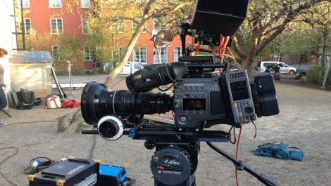 Shooting with Sony F65