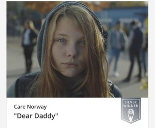 Dear Daddy won Silver in the Clio Awards